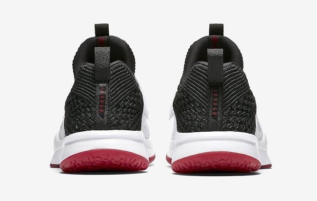 Jordan Trainer 2 Flyknit Chicago White Black Gym Red