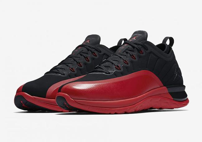 Jordan Trainer Prime Flu Game Black Red