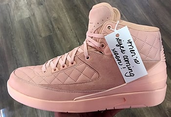 Just Don Air Jordan 2 Arctic Orange Mens