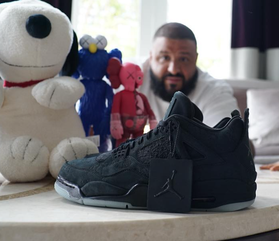 KAWS Jordan 4 Friends and Family DJ Khaled
