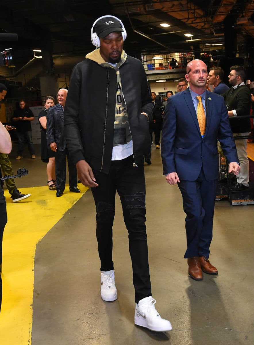 Kevin Durant OFF-WHITE Nike Air Force 1 Low White