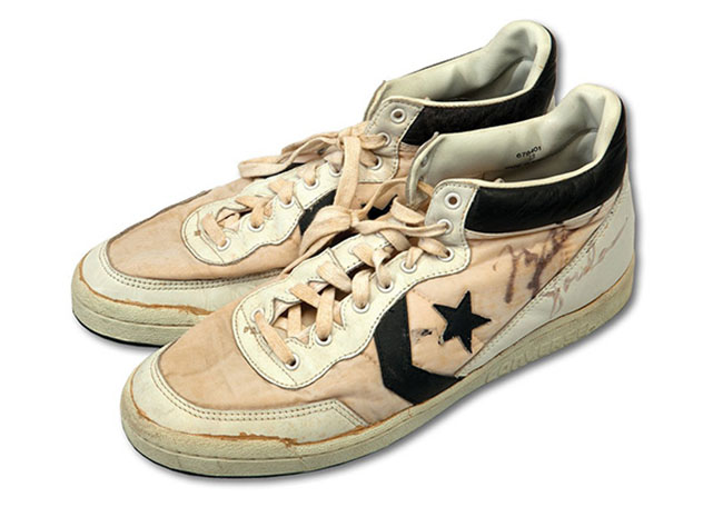 Beat Up Converse Tennis Shoes