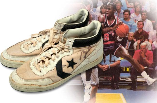 Michael Jordan Converse Fastbreak 1984 Olympics