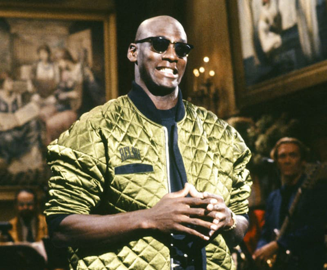 Michael Jordan SNL Flight Jacket