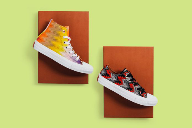Missoni Converse Chuck Taylor 2 Collection