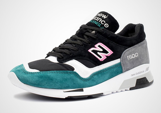 New Balance 1500 Black Pink Teal