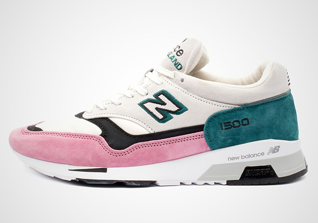 New Balance 1500 White Pink Teal