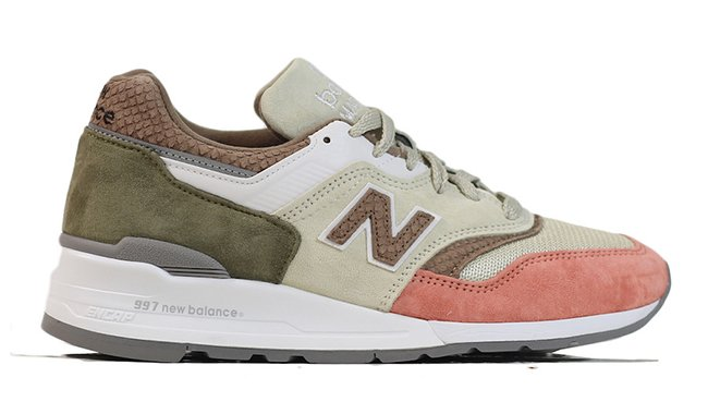 New Balance 997 CSU Bone Sunset