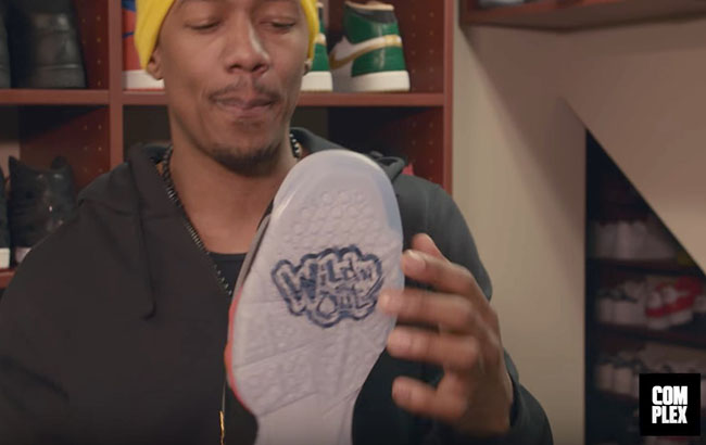 Nick Cannon Air Jordan 7 Wild N Out