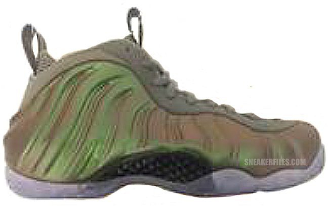Nike Air Foamposite One Womens Dark Stucco