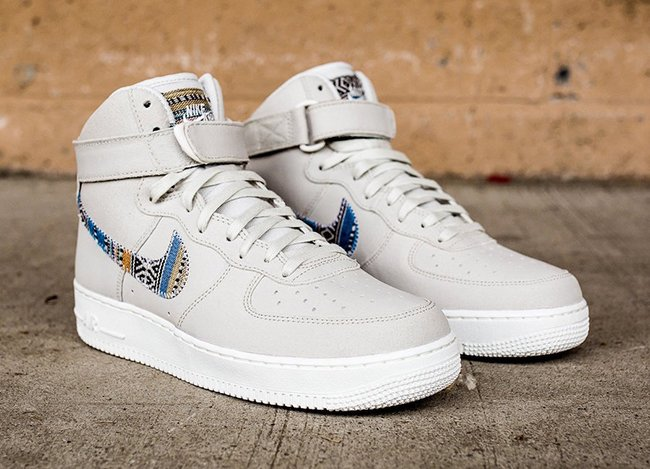 new products 96e08 b7f9d Nike Air Force 1 High Afro Punk Light Bone