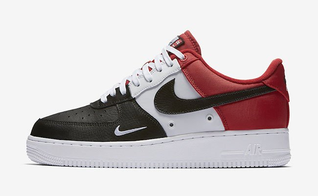 Nike Air Force 1 Low Mini Swoosh Black Toe Release Date