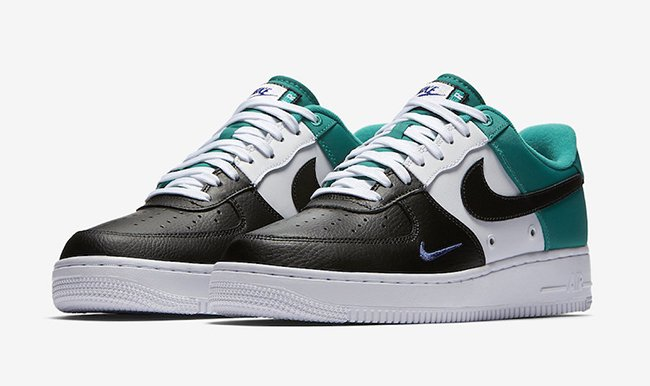 san francisco 3516b bc662 ... 50% off nike air force 1 low mini swoosh neptune green f5b76 2657d