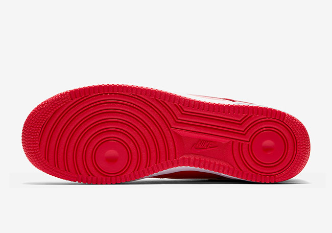 Nike Air Force 1 Low Mini Swoosh University Red Release Date