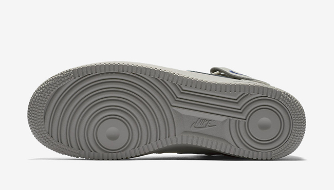 Nike Air Force 1 Mid Dust Grey Royal Blue