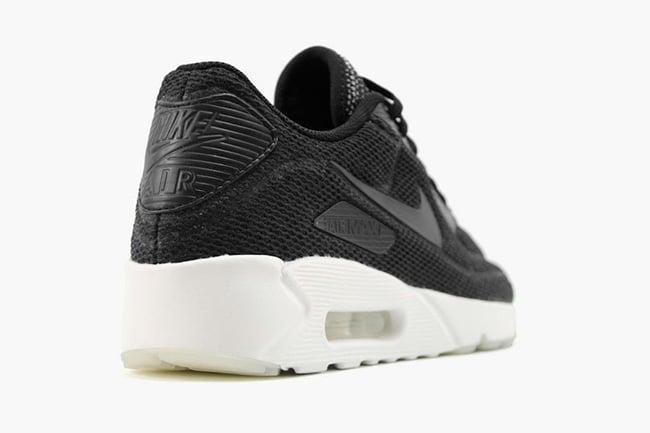 Nike Air Max 90 Ultra 2.0 Breathe Black White 898010-001  1741935d4565
