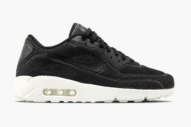 Nike Air Max 90 Ultra Breathe Noir Blanc 898010 001 BasketFiles