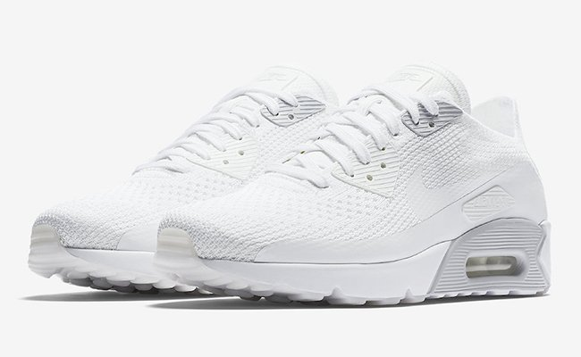 Nike Air Max 90 Ultra 2.0 Flyknit Pure Platinum