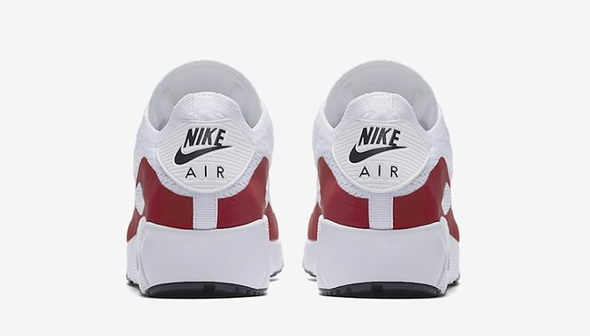 Nike Air Max 90 Ultra 2.0 Flyknit White Red