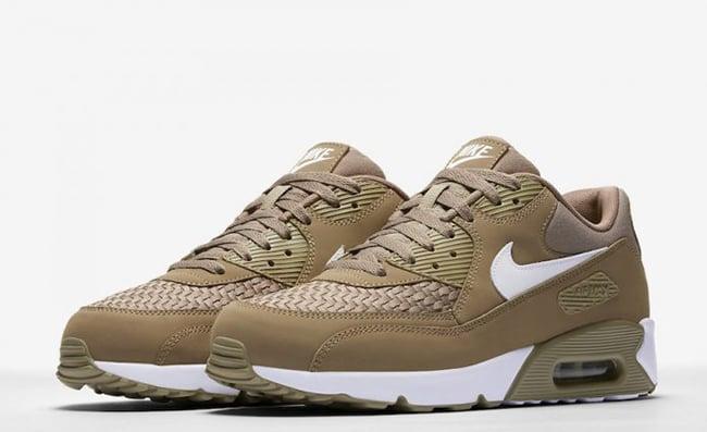 Nike Air Max 90 Ultra 2.0 SE Woven Khaki 876005-200   SneakerFiles