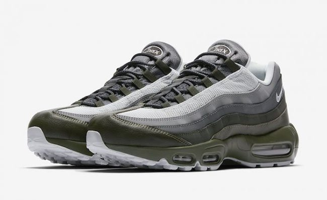 premium selection 5d0f5 7ce20 Nike Air Max 95 Essential Cargo Khaki Release Date