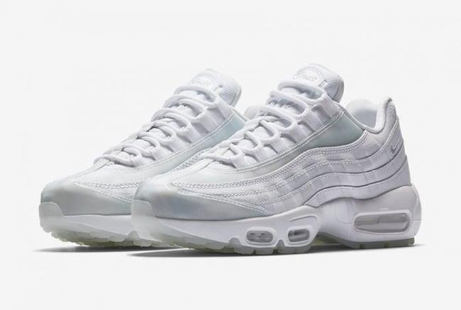 Nike Air Max 95 White Ice Pure Platinum 918413-100   SneakerFiles