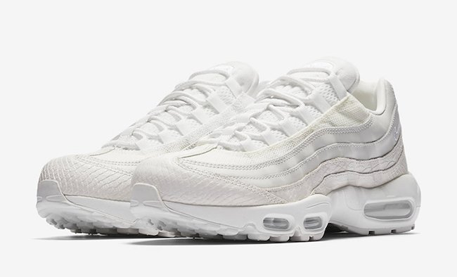 Nike Air Max 95 White Snakeskin 538416 100 Release Date