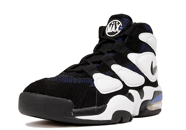 Nike Air Max2 Uptempo OG Duke Retro 2017 Black White Blue