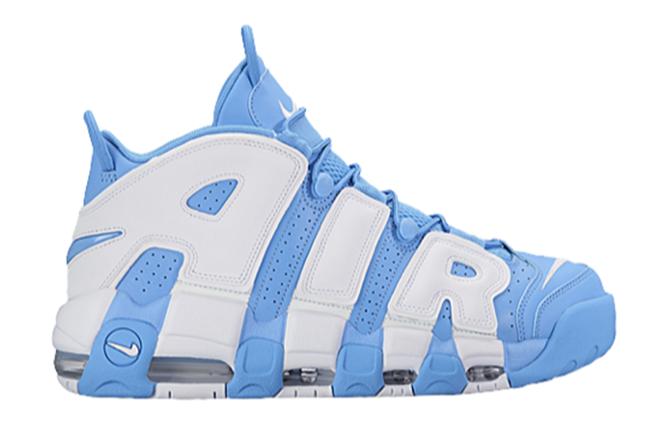 Nike Air More Uptempo Sky Blue White
