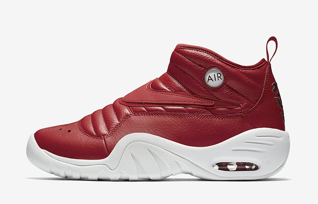 Nike Air Shake NDestrukt Red Leather Release Date