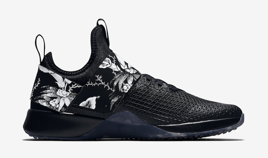 Nike Air Zoom Strong Floral Black White