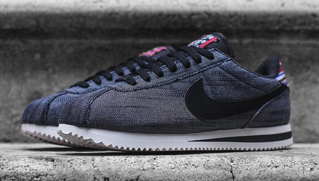 Nike Cortez Denim Afro Punk