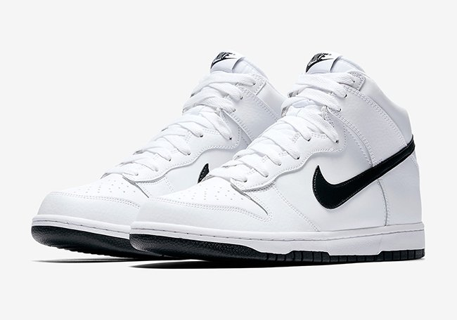 Nike Dunk High White Black 904233-103