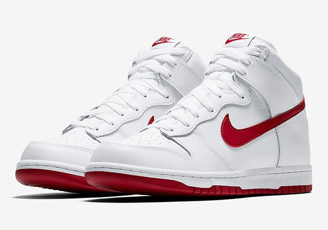 Nike Dunk White Gym Red 904233-102