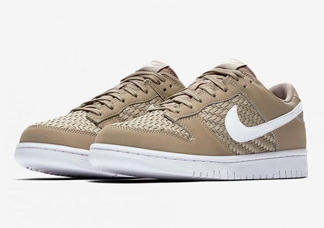 Nike Dunk Low Woven Khaki