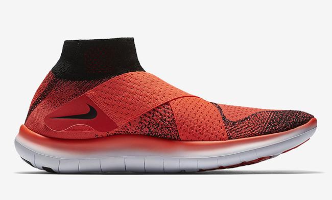 Nike Free RN Motion Flyknit 2017 Bright Crimson