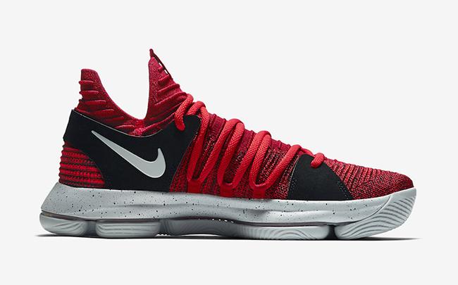 Nike KD 10 University Red Release Date