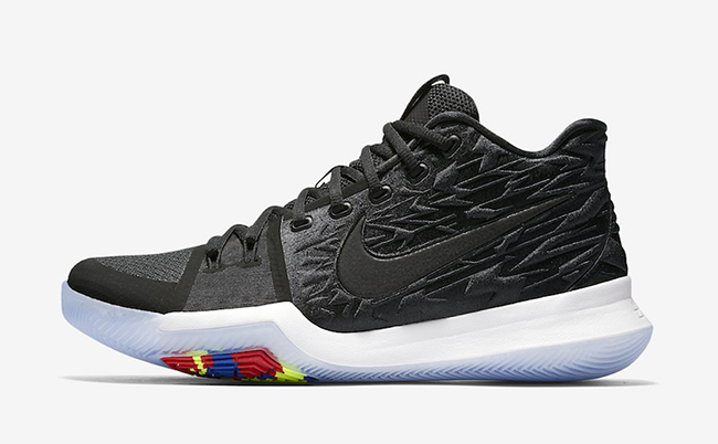 Nike Kyrie 3 Black Ice White Release Date