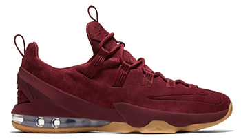 Nike LeBron 13 Low Premium Red