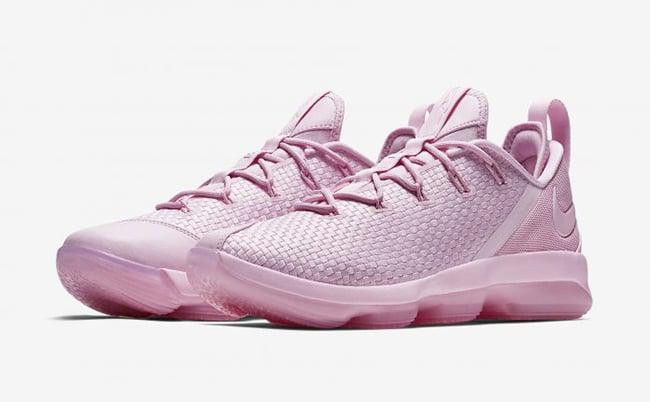 Nike LeBron 14 Low Pink 878635-600