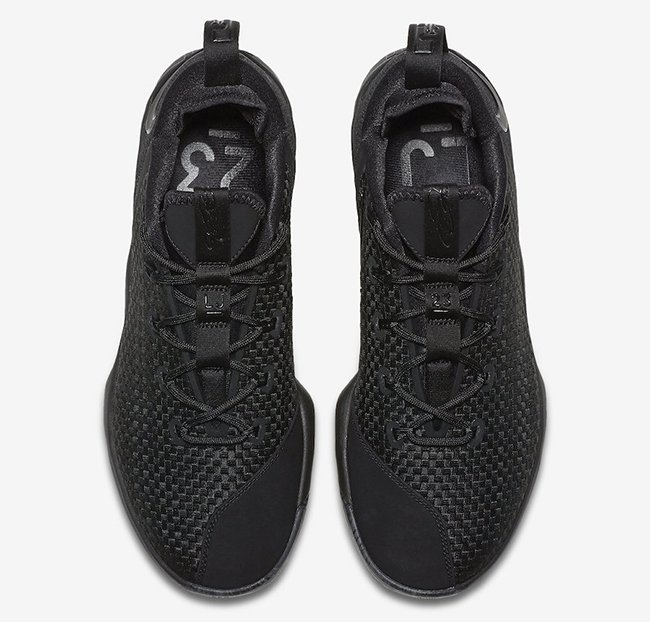 Nike LeBron 14 Low Triple Black Release Date