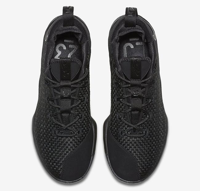 new arrival d83c4 abdc1 Nike LeBron 14 Low Triple Black Release Date