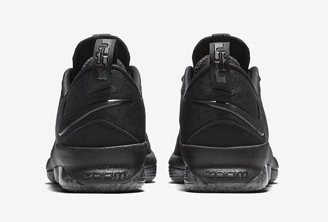 Nike LeBron 14 Low Triple Black Release Date
