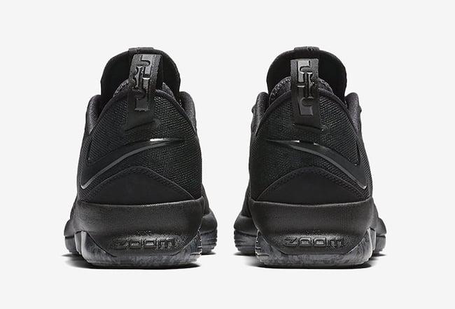 081e9a102cd25 Nike LeBron 14 Low Triple Black 878635-002 Release Date