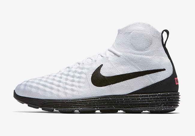 Nike Lunar Magista II Flyknit White Black Infrared