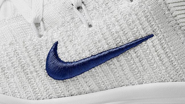 Nike React Hyperdunk 2017 Flyknit PE Draymond Green White Blue