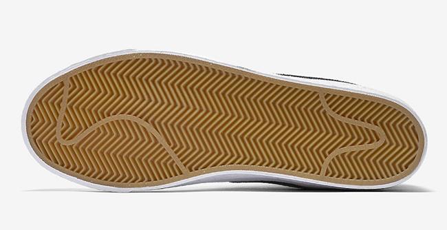 7fd93d2d86c Nike SB Blazer Mid Canvas White Black Gum 902662-149