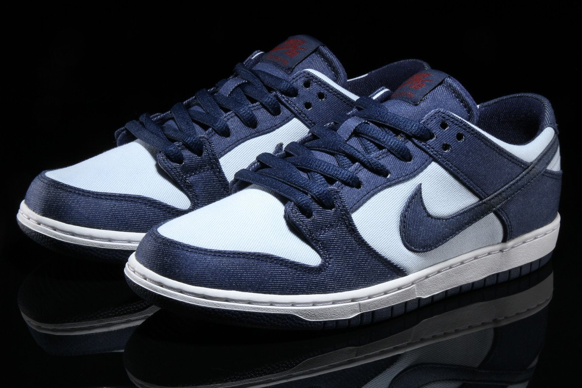 Nike SB Dunk Low Binary Blue 854866-444