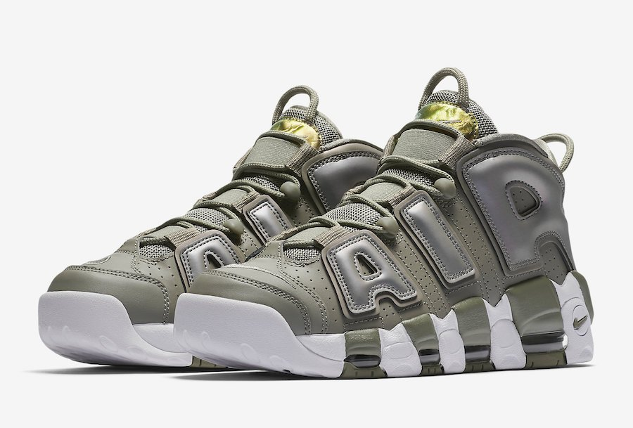 official photos 6c8dd 92a44 Nike Womens Air More Uptempo Shine 917593-001