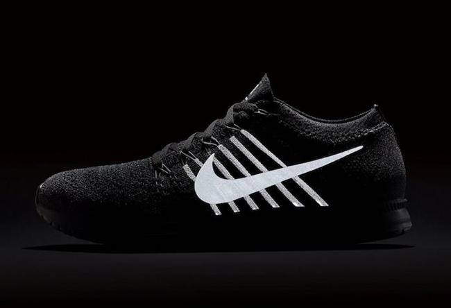 NikeLab Flyknit Streak Black Reflective Release Date